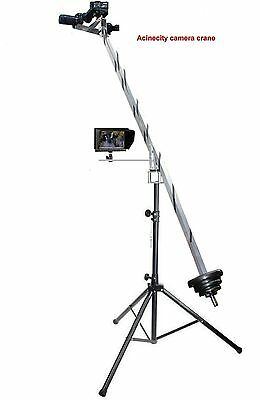 Acinecity Camera Crane Jib Arm + STAND For DSLR NIKON,JVC,SONY, CINEMA BMCC 4K • 184£