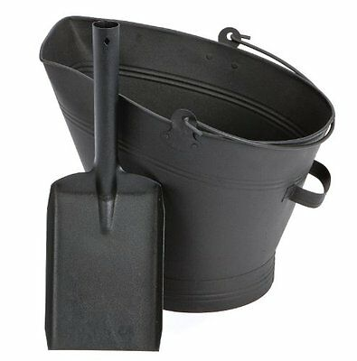£12.99 • Buy Traditional Black Cast Iron Waterloo Style Fire Coal Bucket Shovel Firplace Logs