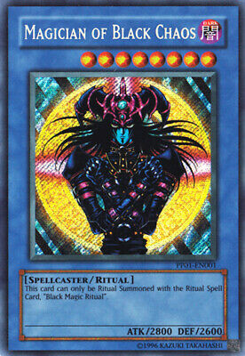 AU14.99 • Buy Yugioh Card - Magician Of Black Chaos *Secret Rare* PP01-EN001 (NM)