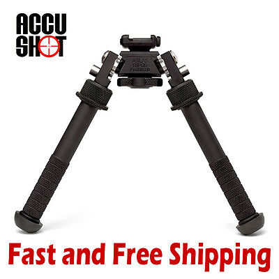 Accu Shot BT10 V8 Atlas Picatinny Rail Mount Bipod Adjustable 4.75  - 9  Height • 219.95$