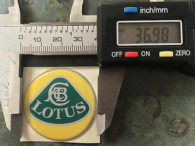 $ CDN19.56 • Buy One A079G6005F Lotus Adhesive Wheel Badge For Esprit S1, Yellow/green. 37mm