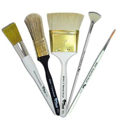 £6.85 • Buy Bob Ross Landscape Series Oil Painting Natural Bristle Brushes - Assorted Types