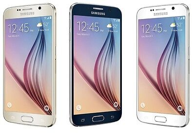 $ CDN279.95 • Buy Samsung Galaxy S6 S-6 SM-G920V(Unlocked) Smartphone Cell Phone GSM AT&T T-Mobile