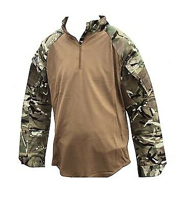 Ubacs Brown Mtp Under Armour Combat Shirt Warm Weather Genuine British Army • 17£