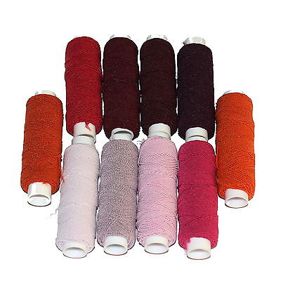 £2.25 • Buy One 20m Roll Of Shirring Elastic, From A Range Of Red, Pink Or Orange Shades