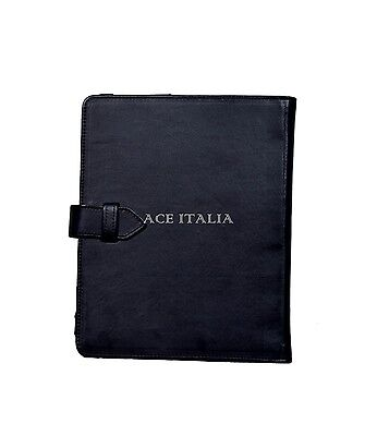 $35.41 • Buy Cover Case Stand IPAD 2 3 & 4 Black Nappa Lambskin Luxury Real Genuine Leather