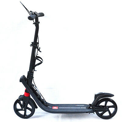 AU108.50 • Buy New Scooter Commuter Big Wheel Suspension Adult Kids Scooter Christmas Present