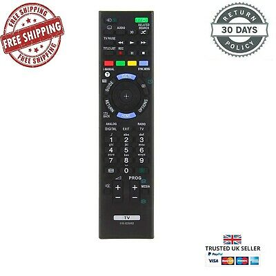 £4.95 • Buy Replacement Remote Control For Sony RM-ED052 RMED052 2014 - 2016 Sony TV Models