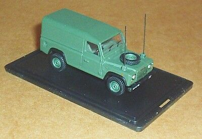 Oxford Diecast Land Rover Defender Military Green 1:76 Scale Model Army Car Toy • 7.30£