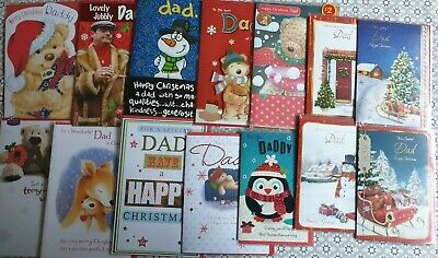 £1 • Buy Christmas Cards - Dad Daddy (standard Post)