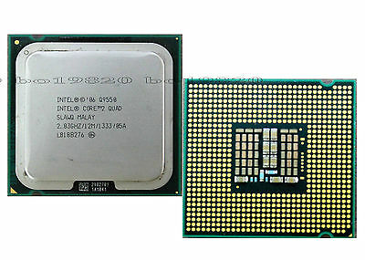 $ CDN44.29 • Buy Intel Core 2 Quad Q9550 2.83 GHz 12M 1333 MHz LGA 775 CPU Processor