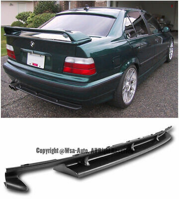 $569.95 • Buy Rear Bumper Diffuser For Bmw E36 M3 Only 94-99 Conversion Lip Lower Valance