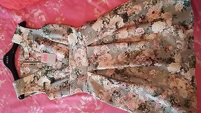 £16 • Buy  Dress Floral Design, Never Worn With Tags Size 10.