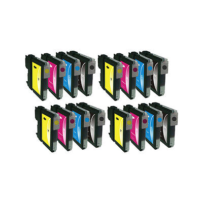 £8.14 • Buy Compatible 16 Ink LC1100 For Brother DCP-6690CW MFC-5890CN MFC-5895CW MFC-6490