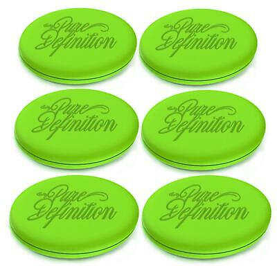 Car Wax Applicator Pad Polishing Pads 6 Pack Foam Car Polish App Pure Definition • 3.36£