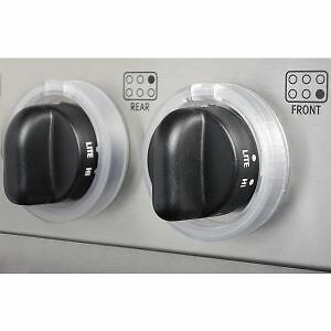 £15.90 • Buy KidKusion Clearly Safe Stove Knob Covers Child Safety Locks Cooker Knobs 5 Pack