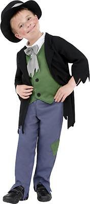 £19.99 • Buy Childrens Fancy Dress Boys Dodgy Victorian Boy Costume Complete Outfit Small