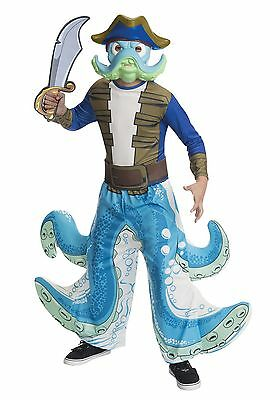 £18.02 • Buy Skylanders Washbuckler Costume Size Small (4-6) For 3-4 Year Old