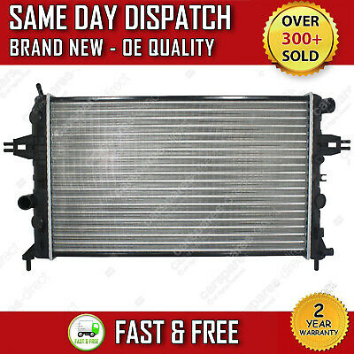 £38.99 • Buy Manual Radiator For Vauxhall Astra G Mk4 Zafira A Mk1 1998>2005 *with Air Con*