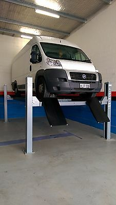 AU6640 • Buy 4-Post Wheel Alignment Car Hoist 5.0T With Jacking Beam By Hero Hoists Qld
