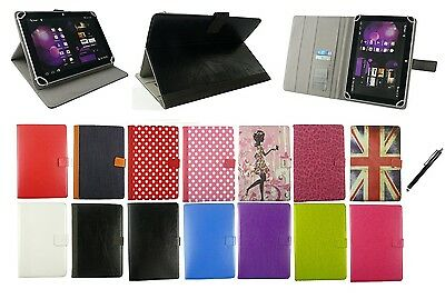 $ CDN12.35 • Buy Stylish Universal Multi Angle Wallet Case Cover With 8 To 9 Inch Tablet + Stylus