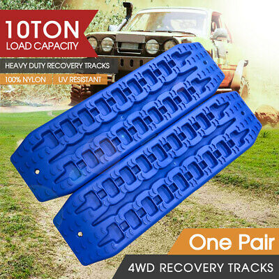 AU59 • Buy NEW Pair Recovery Tracks Sand Track 2pc 10T Sand / Snow / Mud Trax 4WD Blue