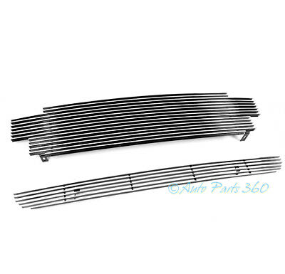$66.95 • Buy 01-04 Toyota Tacoma Pickup Front Upper + Bumper Billet Grille Grill Insert Combo