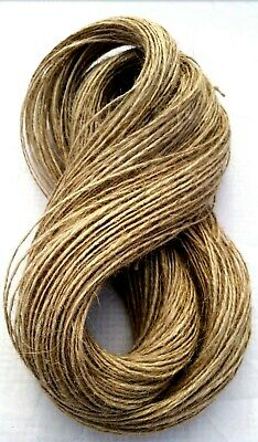 1m-1000m 1/2/3 Ply Natural Brown Soft Jute Twine Sisal String Rustic Shabby Cord • 1.79£