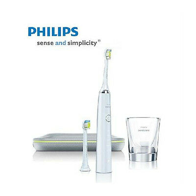 AU354.37 • Buy Philips Sonicare DiamondClean Sonic Electric Toothbrush HX9382/04 2 Brush Heads