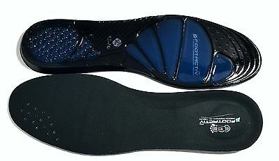 Work Boots Orthotic Foot Arch Heel Support Shoe Massaging Gel Insoles Inserts • 4.95£