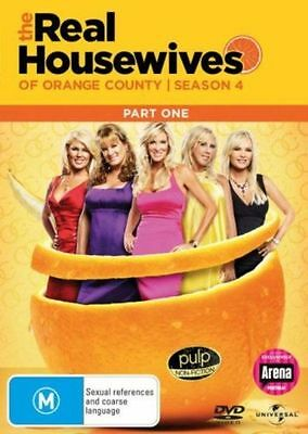 £18.99 • Buy THE REAL HOUSEWIVES OF ORANGE COUNTY : SEASON 4 Part 1 - DVD - UK Compatible