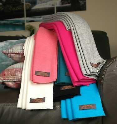 £51 • Buy Super Soft Pure Cashmere Pashmina Wool Scarf Shawl Wrap Various Colours Added