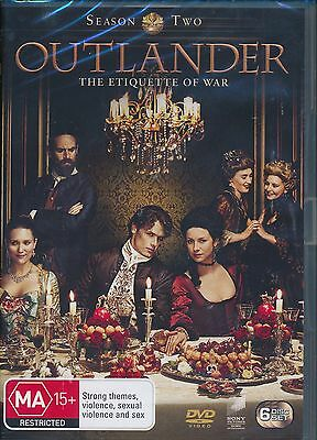 AU21 • Buy Outlander Season Two DVD Etiquette Of War Region 4 6-disc Set