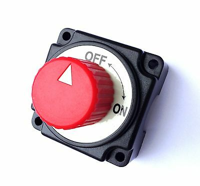 Battery Isolator Switch Cut Off Disconnect Power Kill 250A 12V  • 18.99£