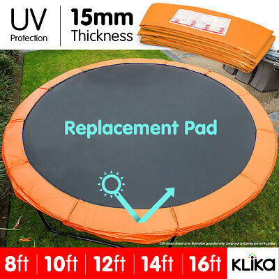 AU59 • Buy REPLACEMENT TRAMPOLINE PAD REINFORCED OUTDOOR ROUND SPRING COVER 8 10 12 14 16ft