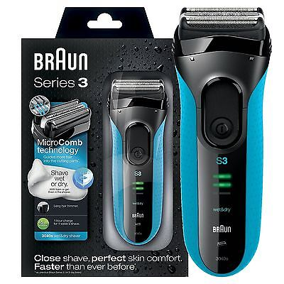 View Details Braun Series 3 ProSkin 3040s Wet And Dry Mens Electric Rechargeable Shaver Razor • 51.99£
