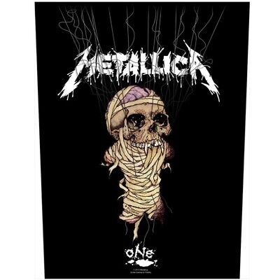 £9.03 • Buy Metallica One Back Patch Official Heavy Metal New