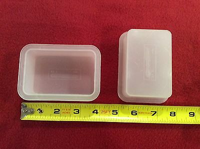 $1.75 • Buy Soap Mold, Rectangle, Individual Containers, Soapmaking, Quantity 2
