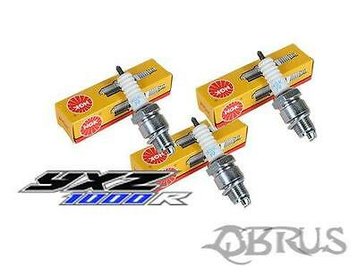 Set Of 3 NGK Spark Plugs For Yamaha YXZ1000R Buggy Parts • 25.97£