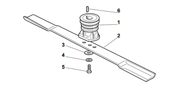 £12.99 • Buy Champion R484tr Sp Petrol Lawnmower Blade Assembly Parts