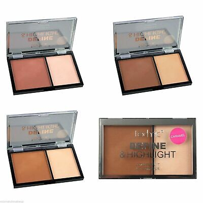 £1.99 • Buy Technic Define And Highlight Face Contour Kit Pressed Powder Bronzer Highlighter