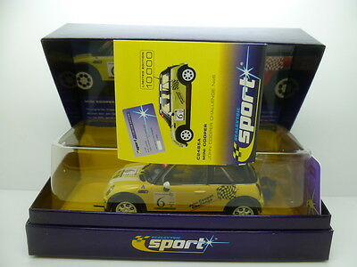 Scalextric C2485A Mini Cooper, John Cooper Challenge No.6, Min Unused And Boxed • 45£