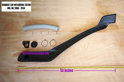 AU469.99 • Buy Jungle OFF-ROAD SNORKEL Mitsubishi L200 Triton Year 2005 - 2014 ML MN L200