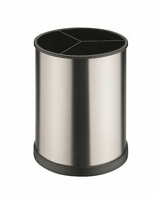 AU27.95 • Buy NEW AVANTI ROTATING UTENSIL HOLDER Round Storage Caddy SS STAINLESS STEEL