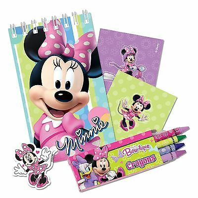 Disney Minnie Mouse 20pcs Birthday Party Stationary Gift Pack Set Favour Girls • 4.37£
