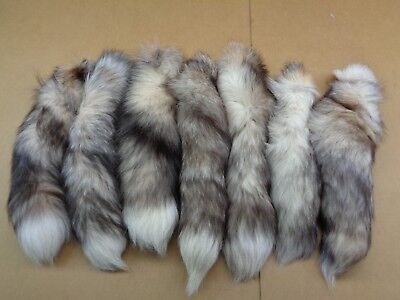 $18.20 • Buy #1 XXL Tanned Red Frost Fox Tails/Crafts/Real USA Fur Tail/Harley Parts/Purse
