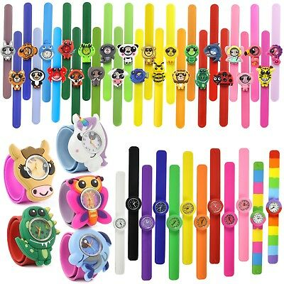 Wacky Watches® Kids Boys Girls Childrens Snap On Slap Strap Band Accessory Toy • 5.99£