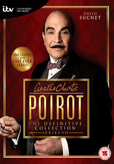 £96.95 • Buy DVD:POIROT COMPLETE SERIES 1 TO 13 COLLECTION - NEW Region 2 UK