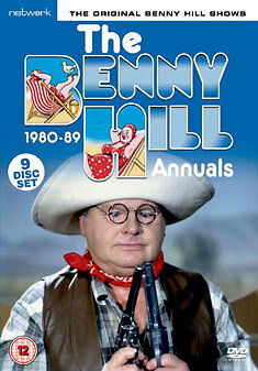 DVD:THE BENNY HILL - ANNUAL 1980 TO 1989 - NEW Region 2 UK • 45.95£