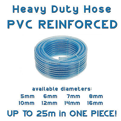 PVC Hose Reinforced Cotton Braided Pipe For Diesel Fuel Oil Air Water Flow • 2.40£
